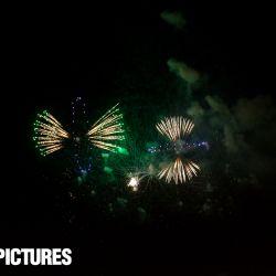1. August Feuerwerk auf dem Gurten 2016