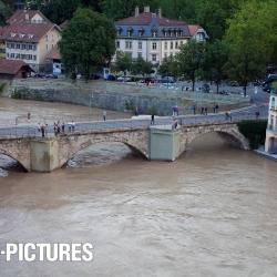 Aare-Hochwasser 04.07.2012
