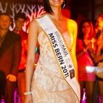 Miss Bern 2011 Alina Buchschacher nach der Wahl im Liquid Club Bern